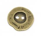 Málmtölur / Antík bronse 20mm / 6stk image