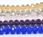 5 lengjur / blandair litir swarovski /12x8.2mm image