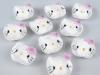 Textílskraut - Hello Kitty /1 stk. Hvítt image