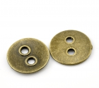Antík bronse tölur 22mm/ 6 stk image