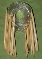 Bambus hringprjónn 10.0mm - 40cm image