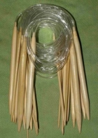 Bambus hringprjónn 2.0mm - 100 cm image