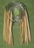 Bambus hringprjónn 4.5 - 100 cm image